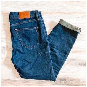 Madewell | Raw Hem Cropped Jeans